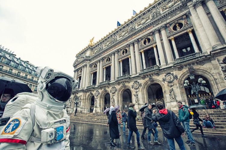 來到巴黎的第二天早晨!