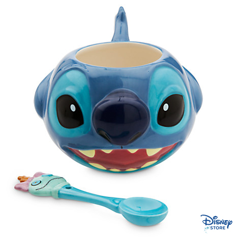 Stitch Mug and Spoon Setㅣ$14.95 折扣價 $9 (約台幣 280)