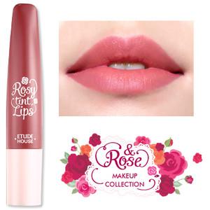 ◆ETUDE HOUSE◆ ROSY TINT LIPS #07 Tea Rose 霧面的粉紅棕色 缺點是比較乾 而且很難擠出