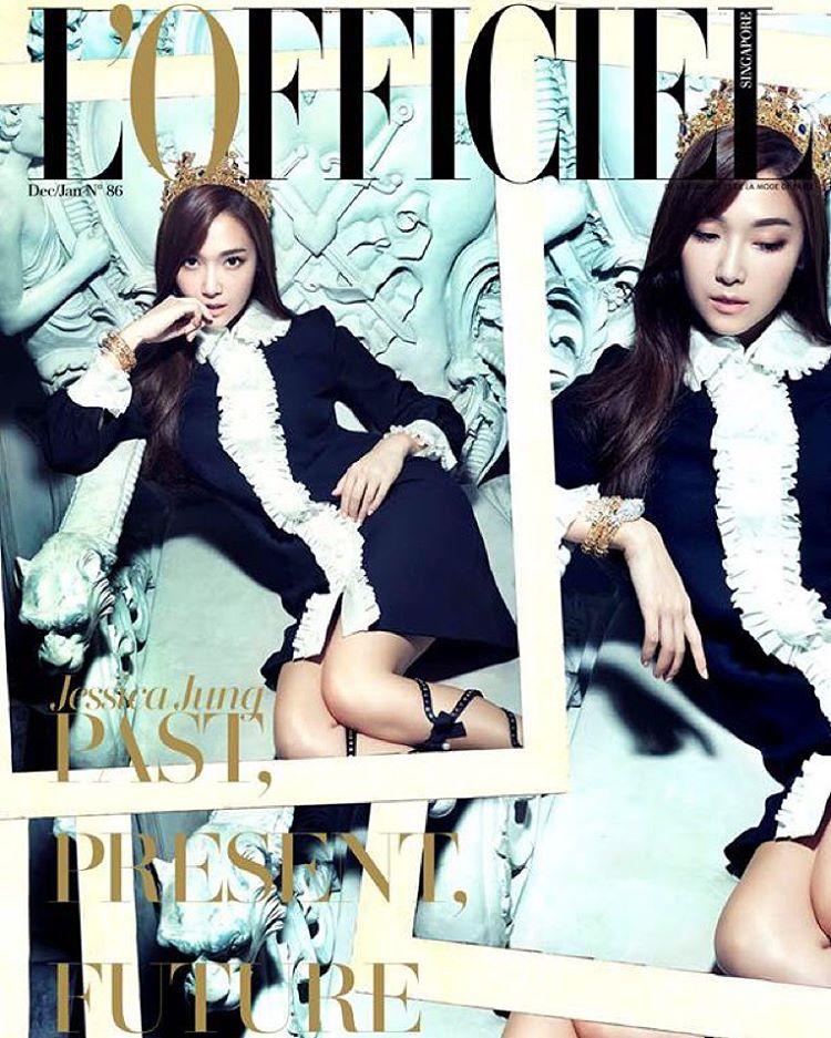 潔西卡離開前東家SM娛樂之後,首度談到離開SM的心境!我們來看看她接受《L'Officiel Singapore》雜誌採訪時怎麼說?