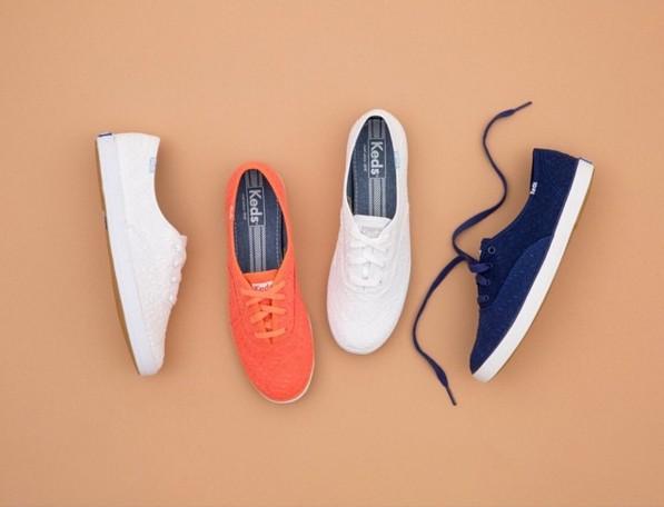 #2 Keds 來自美國的國民鞋Keds前身曾經是冠軍跑鞋呢!轉型之後成為許多女孩青春期絕對不能少的一雙休閒鞋。