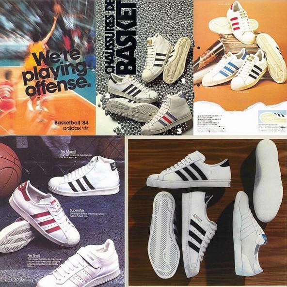 #3 Adidas SuperStar SuperStar在這一兩年突然爆紅,但其實這款鞋已經有了45年的歷史,為了慶祝45周年,今年更是加倍推出多款與各界設計師聯名設計的鞋呢!
