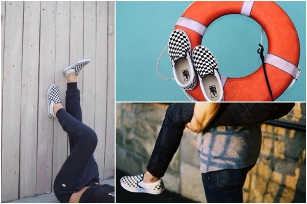 #5 VANS VANS的懶人鞋到現在仍然是露可你看日常不可或缺的休閒鞋之一!特別是格紋經典款,穿壞了還會想要再買一雙。