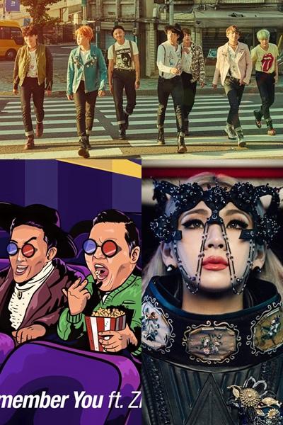 這次有幾首新歌的回歸舞台,將首次在世人面前呈現,包含發行第四張迷你專輯的防彈少年團,以及睽違1年半回來的世界級巨星PSY大叔,以及正式在美國出道的CL等~有的新歌已經公開,有的還沒,大家期待嗎?