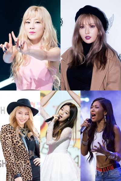 今年solo歌手表現都很亮眼,像女solo歌手各個風格各異,包含太妍、泫雅、Ailee、朴寶藍、Jessi都會出席。