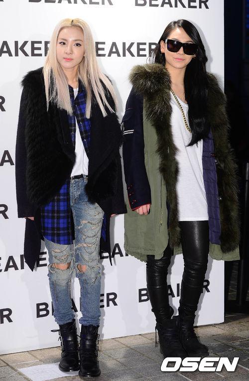 或者你也可以像CL和Dare一樣走混搭街頭風呢~粗金鏈、破洞丹寧褲、皮褲都充滿了十足的街頭元素。