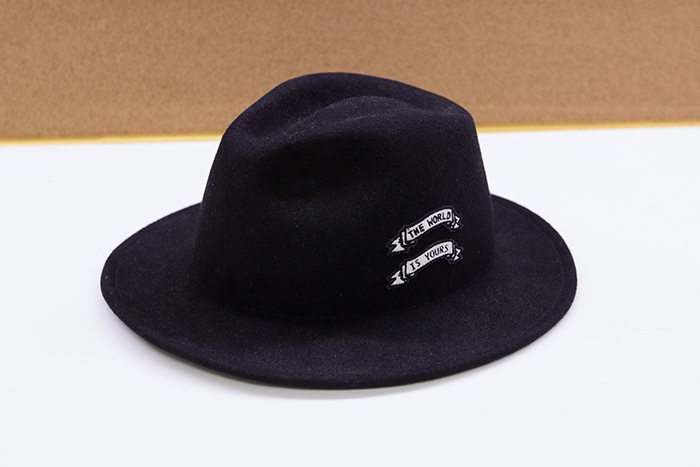 Gee說︰這頂帽子通常是想要耍帥的時候才會戴出門 XD
