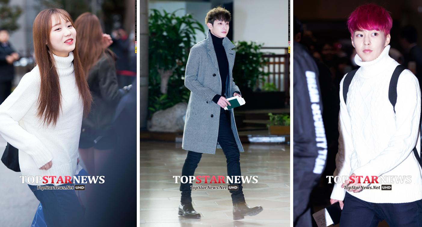 1、高領毛衣 寒冷的冬天,一件高領毛衣既能讓你凹造型又能保證溫暖和舒適度,簡直就是凜凜寒風裡的救星!韓星都紛紛的選擇了經典的黑白款。