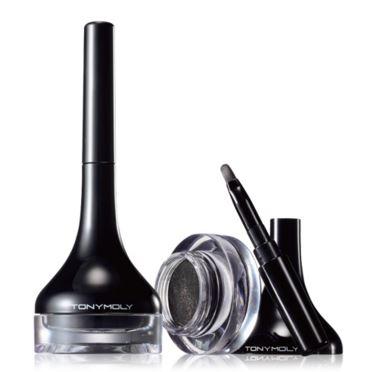 5. Tonymoly 媚眼持久眼線膠 在韓國被稱為「金妍兒眼線」 具防水效果,持久不暈染,且色彩飽和 隨附刷子,攜帶方便  (NT$420)