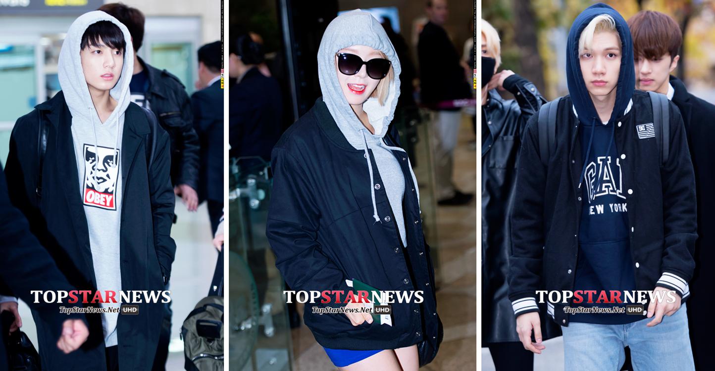 3.戴帽子衛衣 這件韓星私服出鏡率最高的單品,一定要有一件,是永遠不會出錯的內搭聖品,颳風或者沒洗頭出門的時候直接戴上帽子就可以出門了!