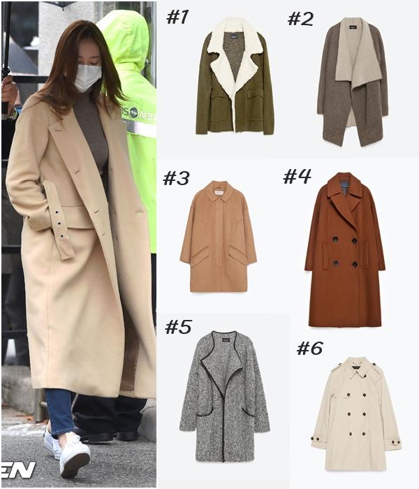 在音樂放送節目的上班路途中被捕捉到的大衣,正好是今年韓國與歐美同步流行的OVERSIZE風格!若想要穿出OVERSIZE的感覺,色調一定要越簡單越好喔!