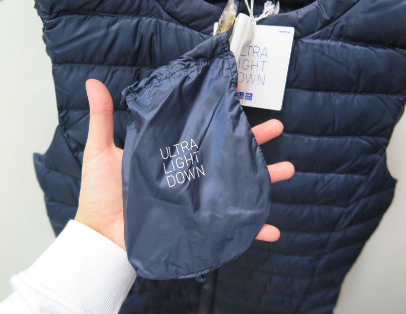 而且女生的收納袋更為小巧 簡直就輕巧到讓妳感受不到它的存在(?)
