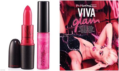 #6 M.A.C M.A.C身為全球最受年輕人歡迎的十大品牌之一,在韓國的影響力也很大!這次以麥莉作為代言人的VIVA GLAM有唇釉與唇膏,都很吸睛啊~