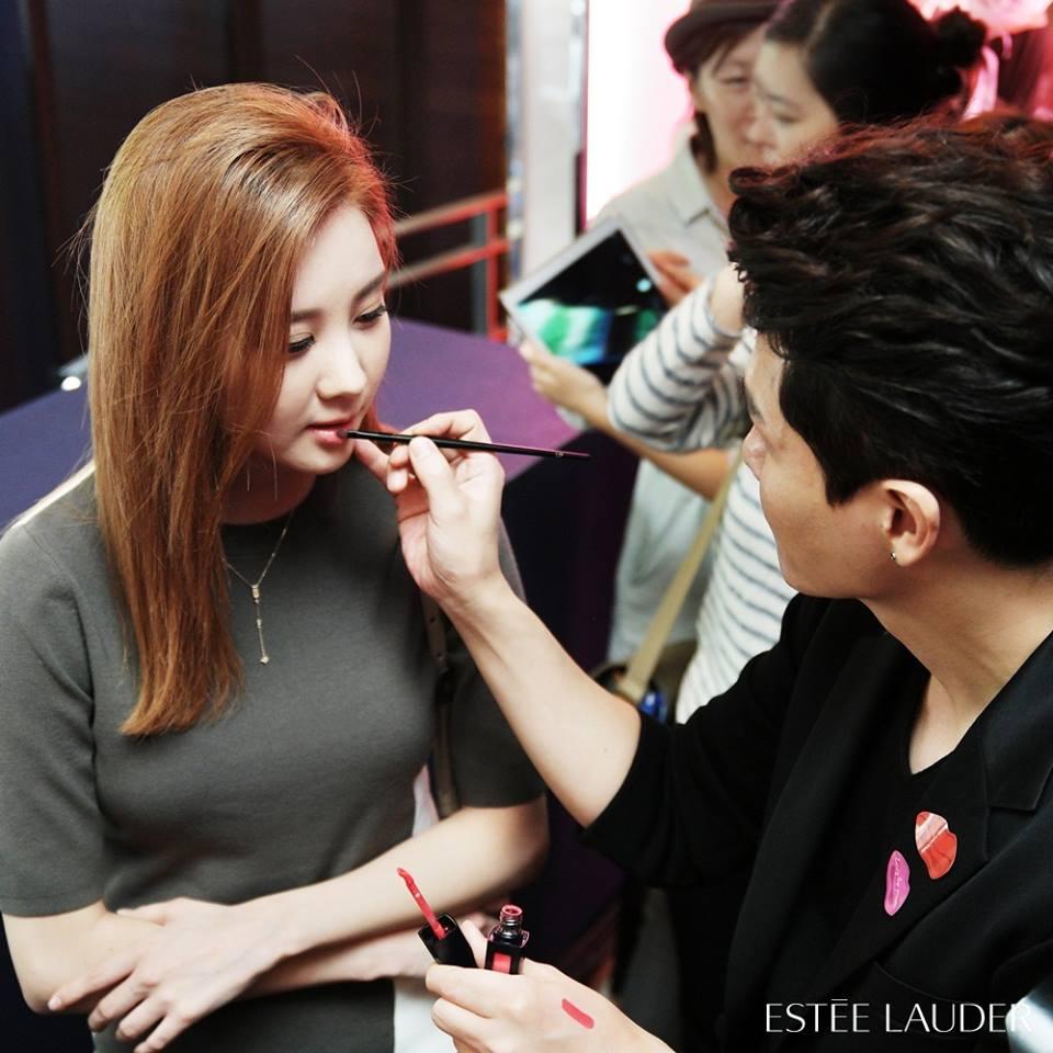在韓國的發表會現場,連少女時代徐玄也稱讚的水潤色澤還有立體效果,最近的詢問度也很高喔!