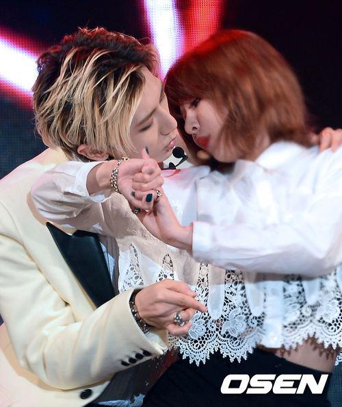 # 泫雅 & 賢勝_trouble maker 說到「Couple Dance」的最強者  當然不會露掉性感小天后泫雅和Beast的賢勝的限定組合「trouble maker」