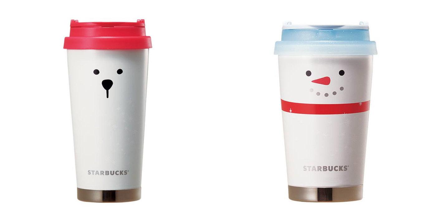 白熊和雪人的隨行杯