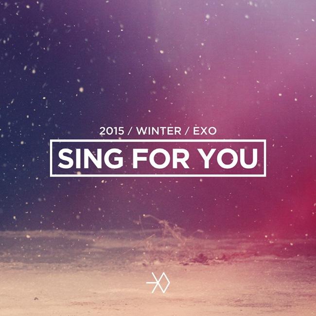 預計在 10 號發行冬季特別專輯《SING FOR YOU》的EXO,也在今天公開新的概念照囉!