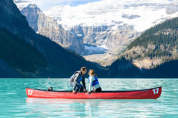 8. 兩個人單獨去旅行的途中,突然而來的求婚 對對, 就是這個......!♡ 好希望有影片哦.