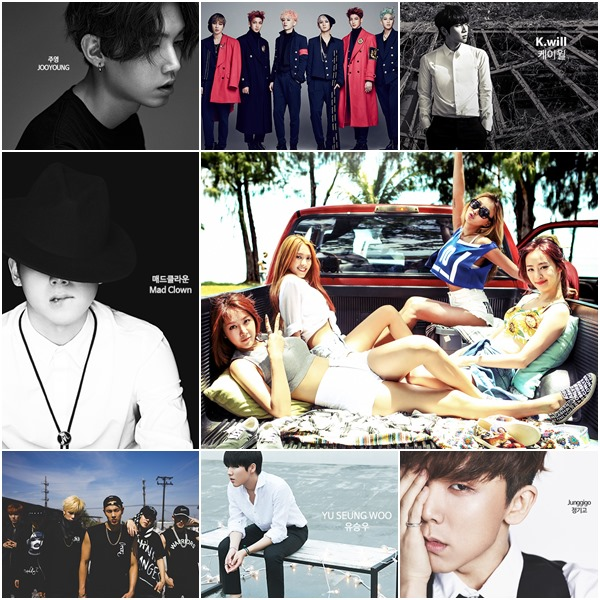 Starship娛樂旗下除了Sistar,還有周永、Mad Clown、Monsta X、Boyfriend、歌手K.will、劉勝宇、鄭基高等歌手