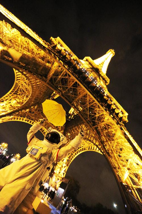 這就是百聞不如一見 巴黎的地標啊!