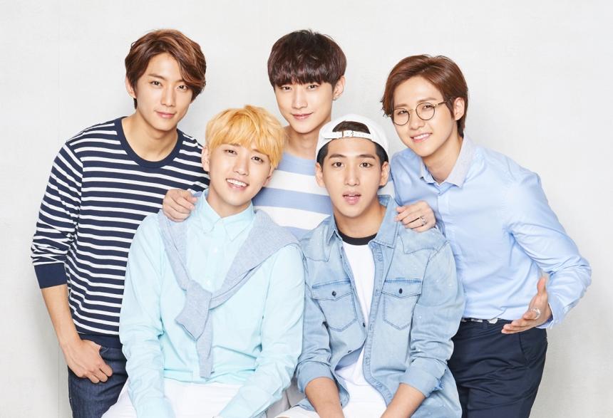 TOP - 6 B1A4 粉絲人數:155,119人