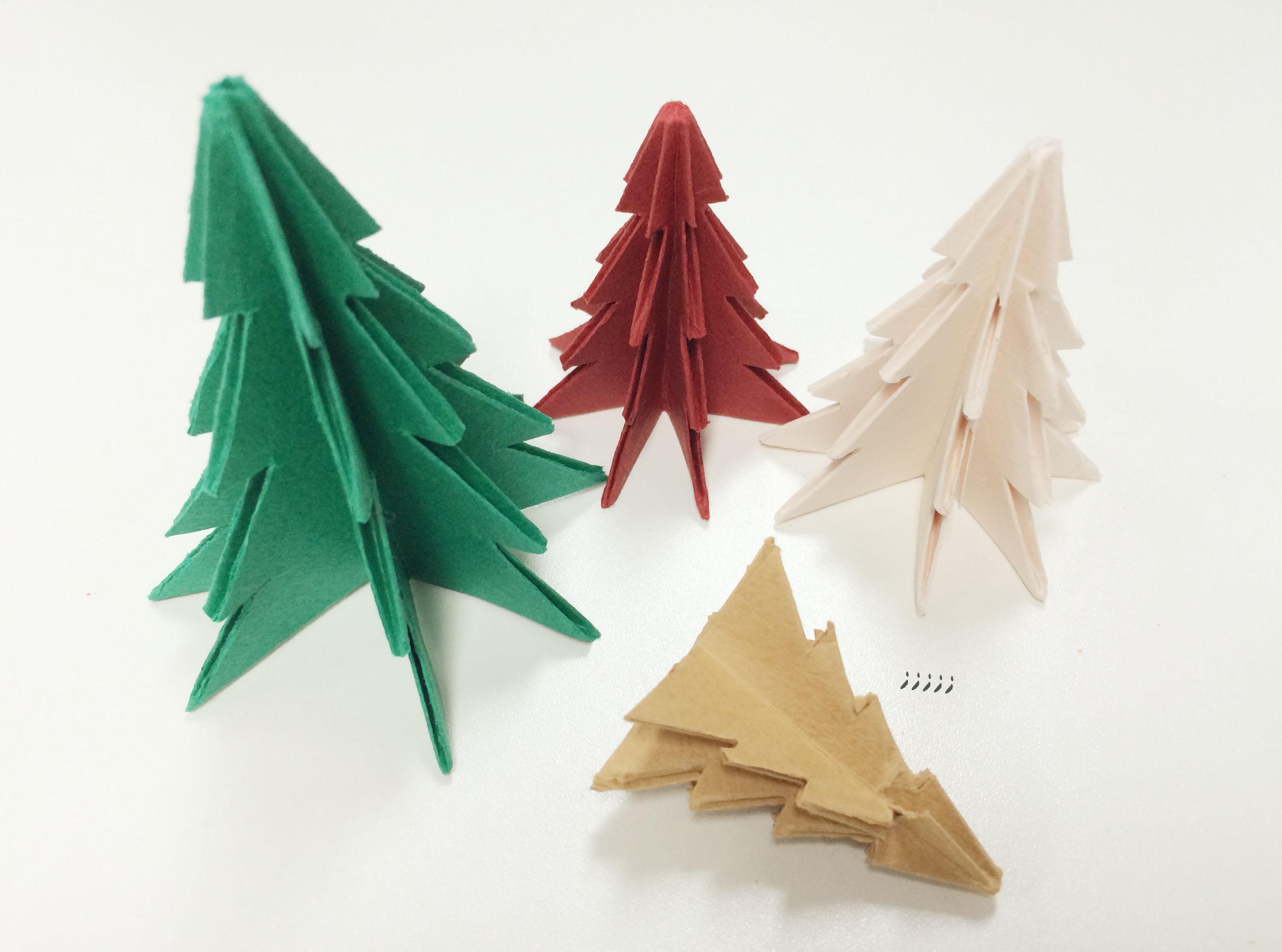 如果做得太小,就可能出現途中褐色聖誕樹的大慘事...站不住XDDDD~