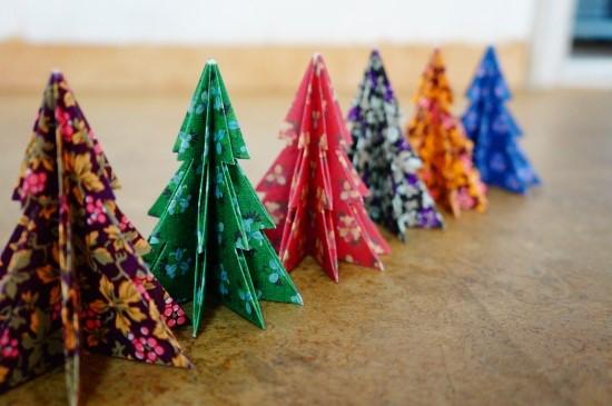 如果你用的是帶有花紋圖案的彩紙疊的聖誕樹的話,不用裝扮的樣子都是妹妹的哦♬♬♬♬♬♬這就是今天聖誕特輯DIY第2彈的內容了!學會了嗎?
