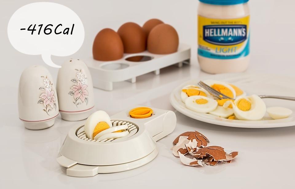 #8 吃蛋的秘訣 有時候早餐可以吃兩顆水煮蛋,飽足感足以減少額外攝取416卡!