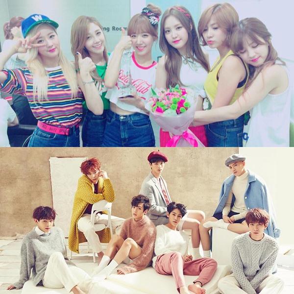 Cube娛樂目前會有BTOB以及A cube娛樂的Apink參加