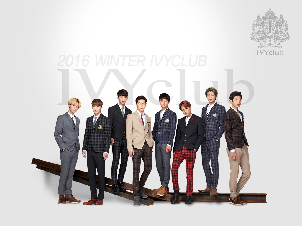 EXO代言的冬季校服照片大家都看過了嗎?