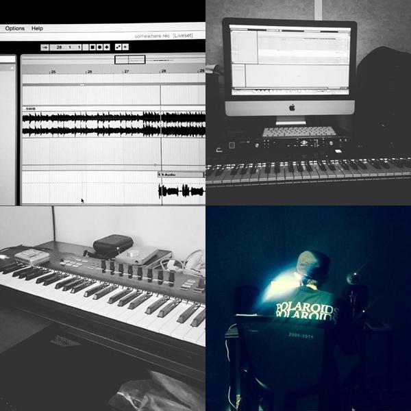 許多時候會放上自己創作的歌曲或是工作模樣