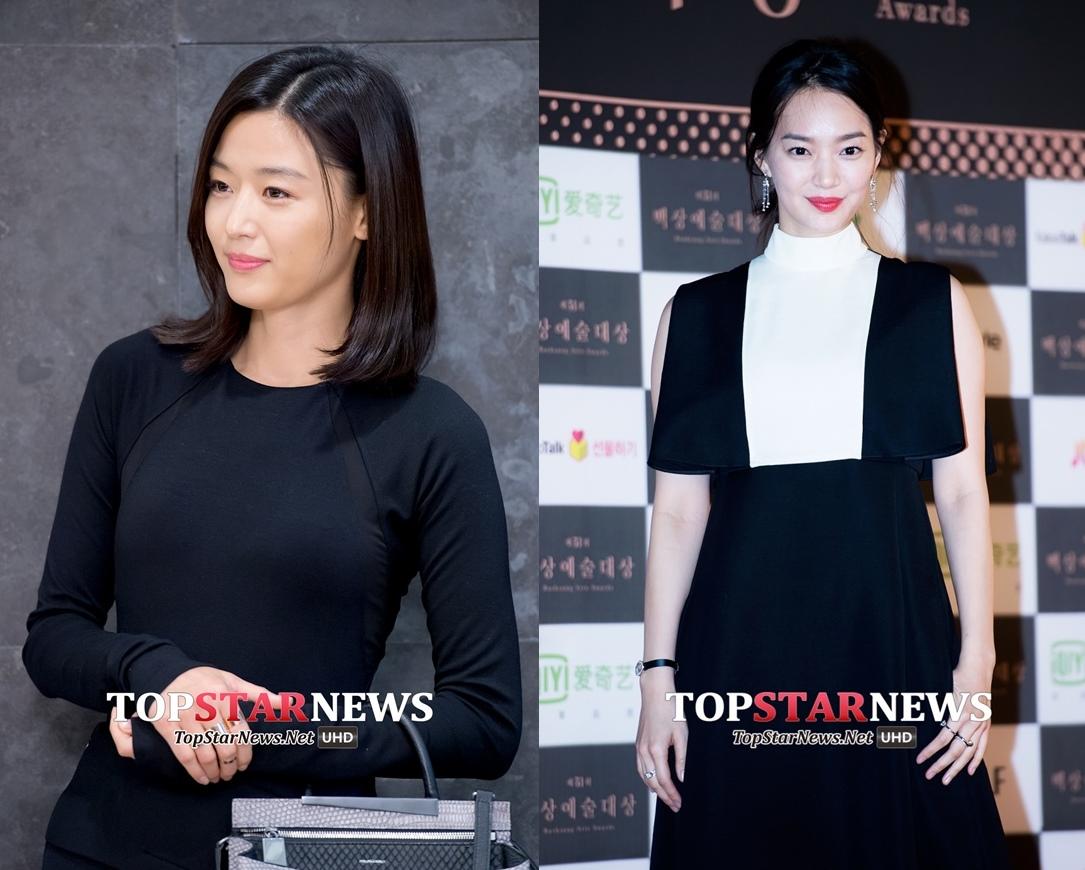 韓國網友們覺得就算她在全智賢和新慜娥旁邊,也依舊能存活XD不會完全被比下去!
