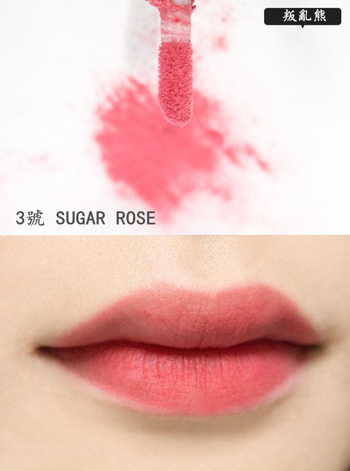 也許是本身小編的嘴唇上原本有一點粉紅劑,覺得不太像NARS口紅..呵呵