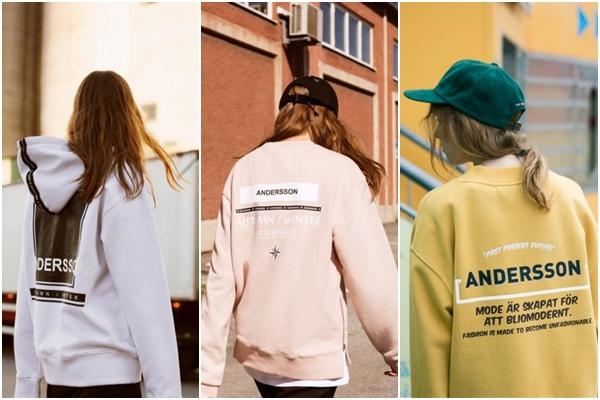 特別是 ANDERSSON BELL 這個秋冬推出許多運動衫,著重於後背設計,讓好多偶像也想要搶著收藏~