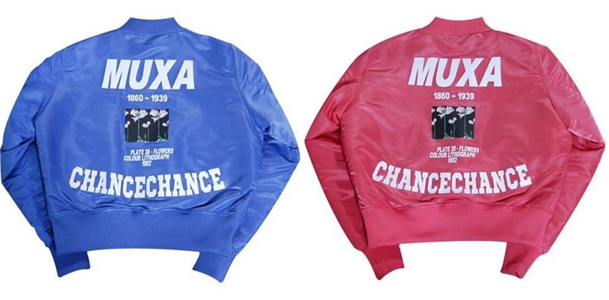 韓國潮牌CHANCECHANCE也推出了兩個顏色好好看的後背設計外套!