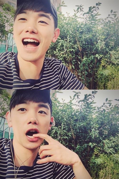 ♥ No.3 :: Eric Nam  第三名就是 SOLO 歌手 Eric Nam,溫柔的嗓音配上暖男的外貌,讓他最近在韓國的人氣居高不下。