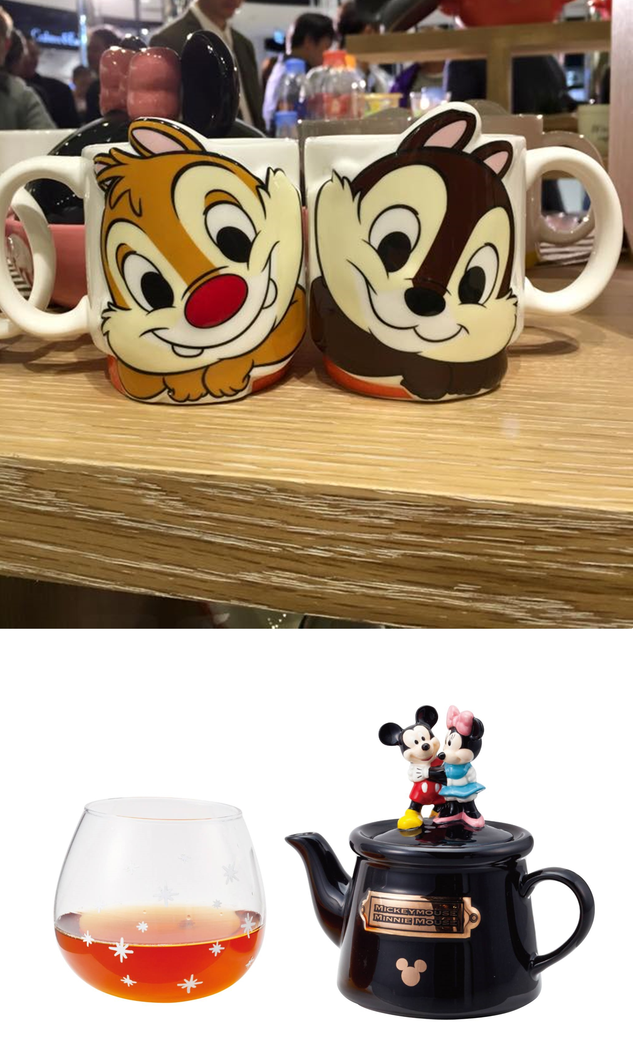 好多杯子茶具組都十分可愛!讓人好捨不得用喔~