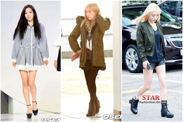 太妍#1 Sporty風格 太妍嬌小的身高,穿起運動風格的單品特別可愛!