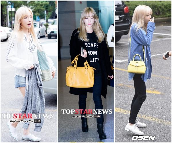 太妍#3 隨興隨興好隨興 太妍偶爾會有BOY風格的隨興穿搭,這時候包包就是很重要的搭配聖品了!