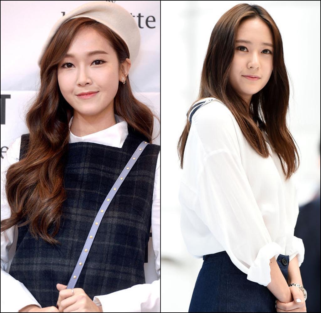 ★ No.1 :: Jessica & Krystal  說到演藝圈的優良基因,怎麼能不提她們?XD