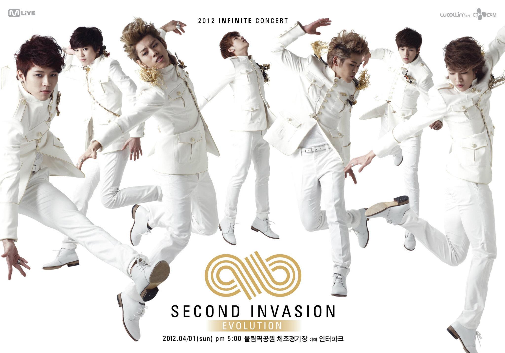 2012 INFINITE 雖然2011年是Infinite重要的一年,但巔峰應該屬於2012年!這年他們首次開售票演唱會,第三張迷你專輯的主打歌《追擊者(The Chaser)》獲得各大音樂節目7個第一,是非常風光的一年!