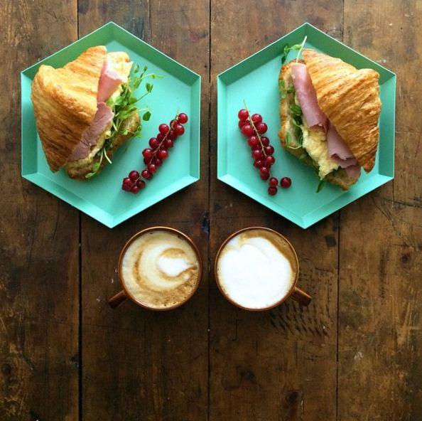 Michael Zee表示每天都要準備這樣的早餐,當然有時候也會覺得很煩,但是一想到男友吃到自己做的早餐時那種美好的感覺就會很幸福,為了男友做這些都值得...滿滿的愛♥