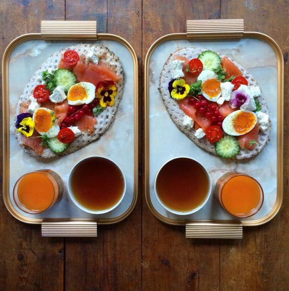 想象一下,在繁忙的日常生活中,每天都可以跟愛人一起享受這樣「美」的早餐,真的是一件充滿幸福感和愛意的事情..!
