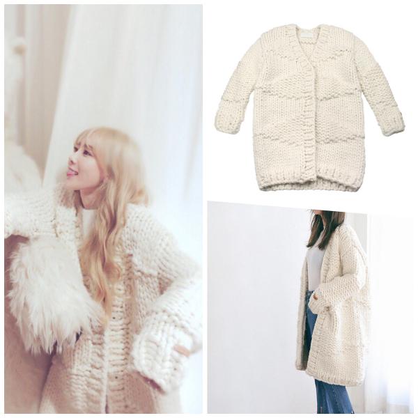 不知道是不是太喜歡這款外套,同款雙色太妍都有喔!大家比較喜歡哪個顏色哩?