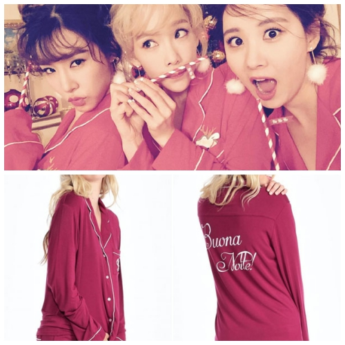 在新歌《Dear Santa》中的紅色睡衣,一點也不便宜,美金$148,換算台幣約4880元左右!