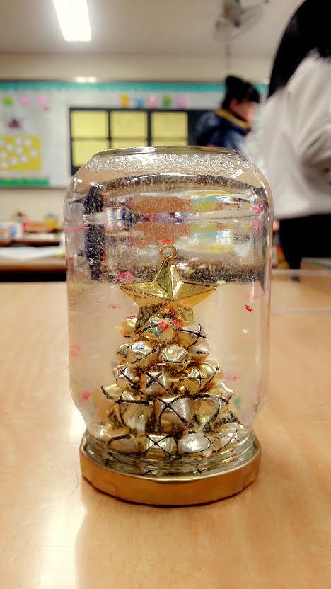 「雪景球」☞這是一個12歲的小鄉民做的...前途無量喲⁄ ⁄•⁄ω⁄•⁄ ⁄