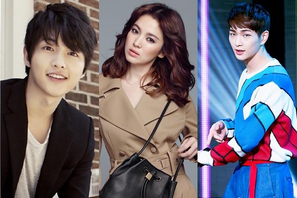 KBS2 2016.02.10 <태양의 후예> 出演人物:宋仲基、宋慧喬、溫流