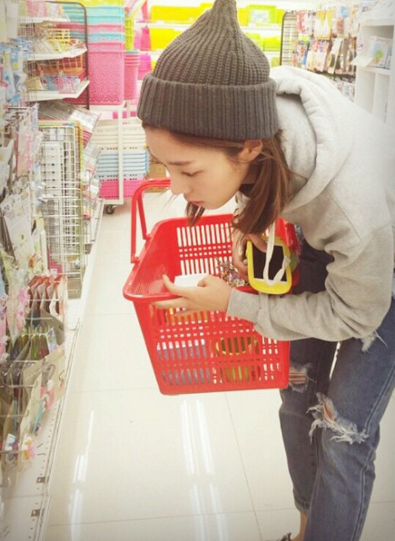 週末的時候說要給我做大餐,一起去逛超市選食材