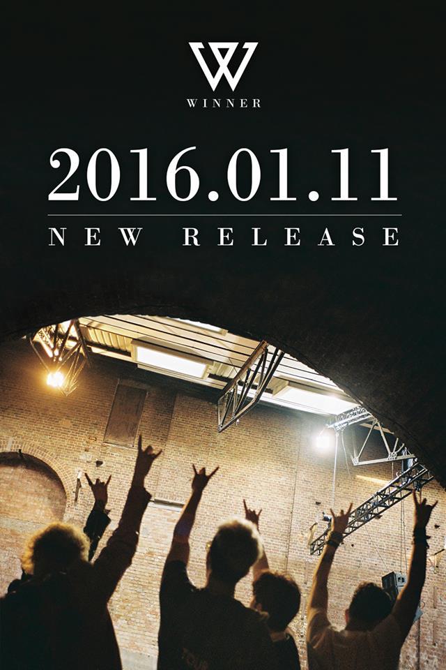 14日YG公司透過WINNER官方網站公布了將在2016.01.11號回歸的消息!