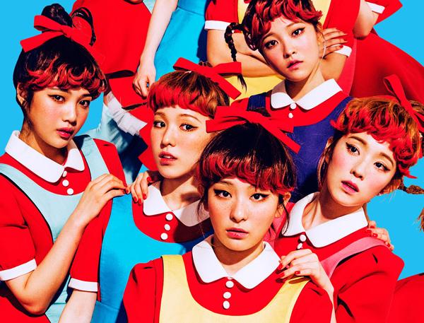 #Red Velvet  眼-Irene / 鼻-Joy / 嘴-Wendy